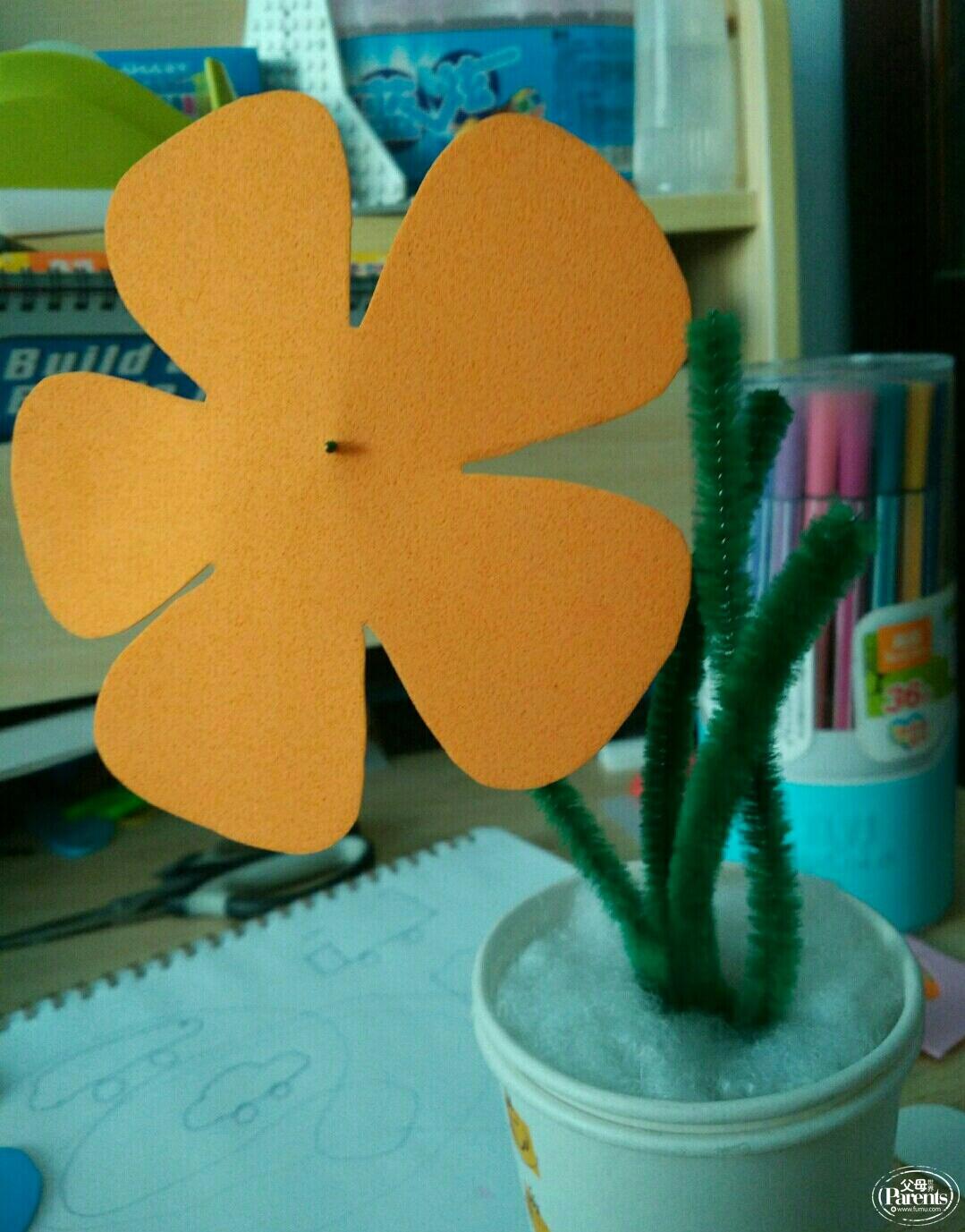 用粮食做手工粘贴画花