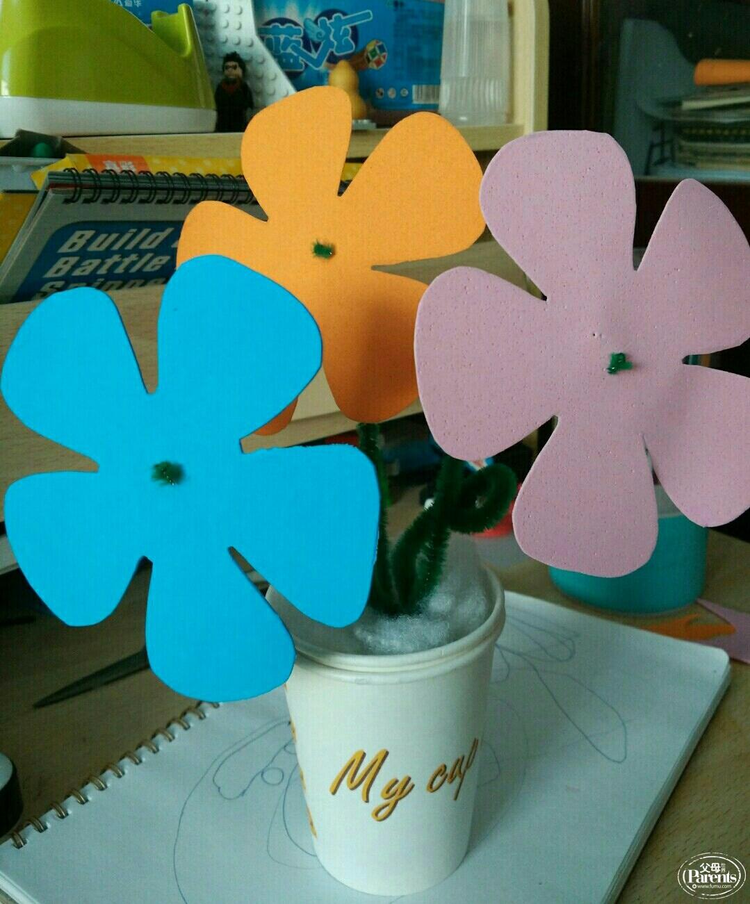 手工制作 小盆栽图片