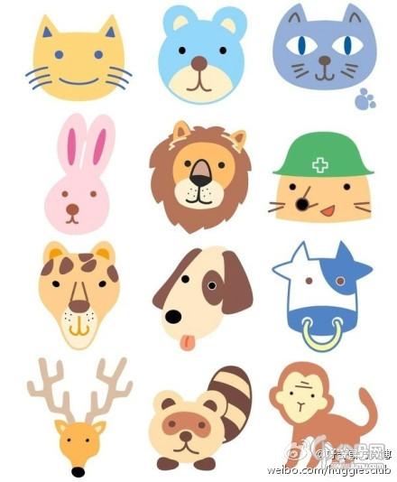 就是用简单线条画出动物主要的外形特征-是用文字的线条或笔画