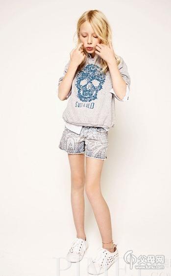 2013年2月zara发布的大童新品春装,哇塞,怎么儿童模特