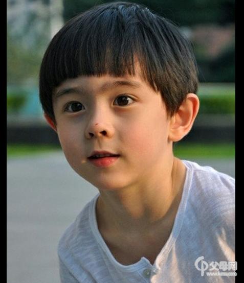 中美混血小男孩酷似林志颖尼坤合体