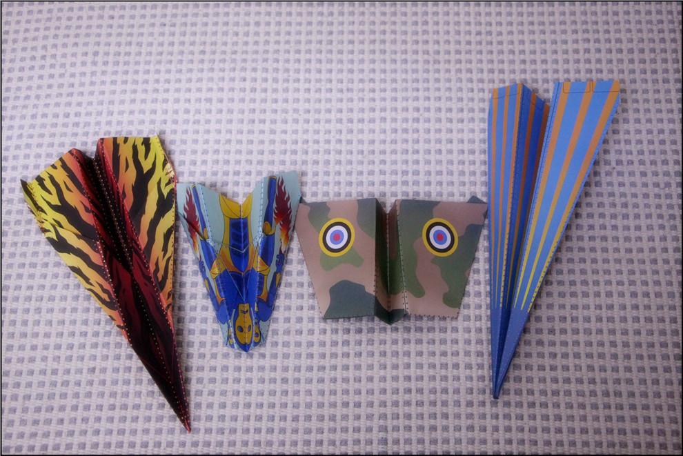 4种飞机的折法,让梦想飞得更高