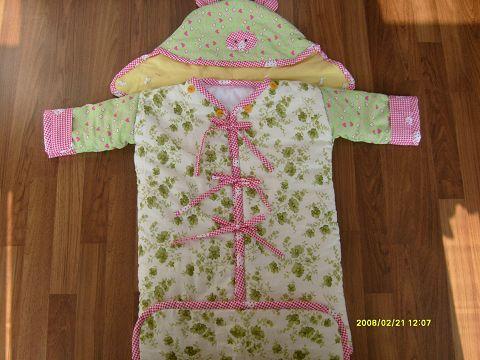 怎么手工制作宝宝睡袋