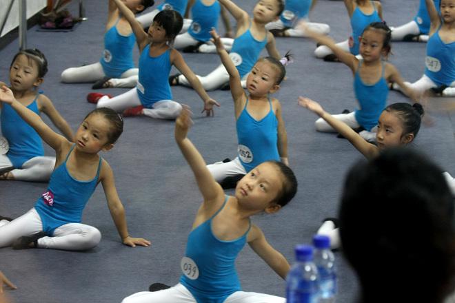 三级的舞蹈考试是最基础的级别