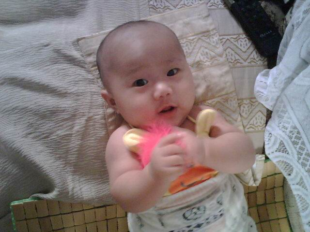 一岁半宝宝可爱发型_一岁女宝宝可爱发型,一岁男宝宝可爱发型图片; 百