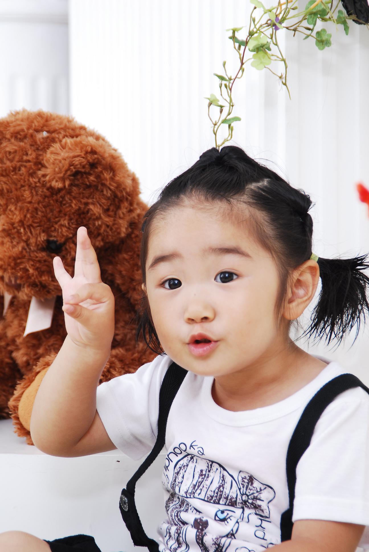【可爱宝宝发型秀】曈曈公主的美发历程