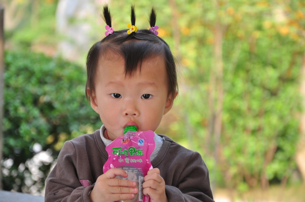 儿童辫子发型扎法图解冬季