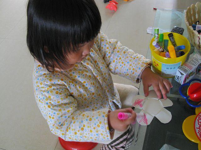 纸杯世界】和诺诺一起做手工