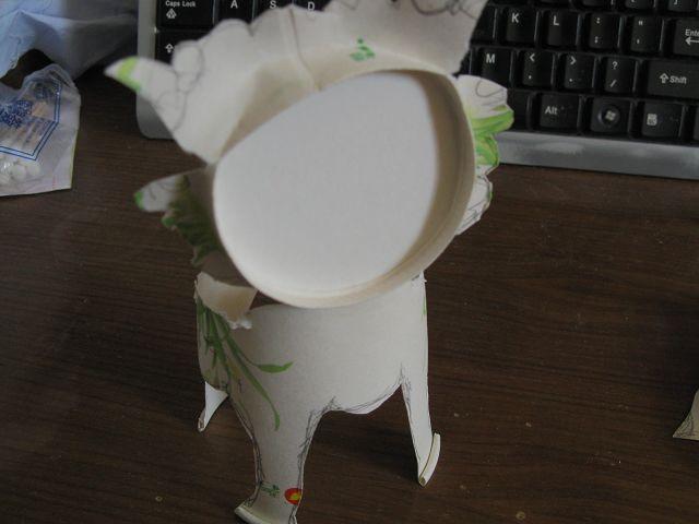 【快乐的纸杯世界】和诺诺一起做手工